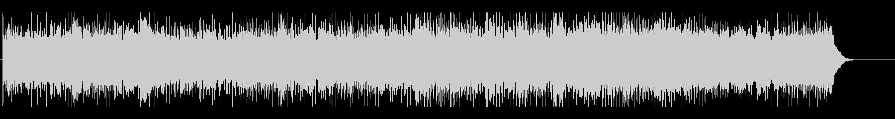 おしゃれでエレクトロポップなループBGMの未再生の波形