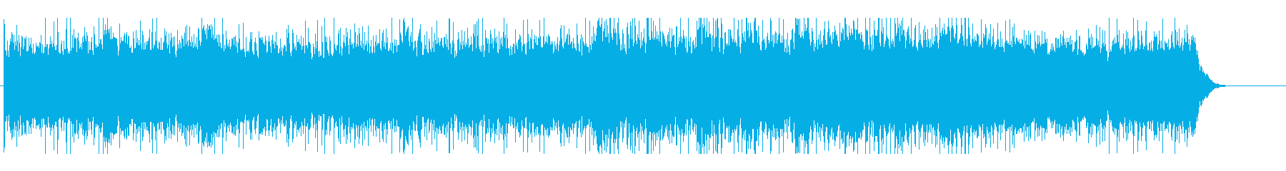 おしゃれでエレクトロポップなループBGMの再生済みの波形