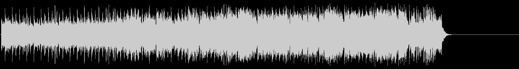 感動的で軽やかなポップ(A~B~サビ…)の未再生の波形