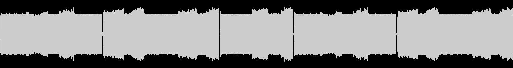 マルチFxレッドアラートスペースアラームの未再生の波形