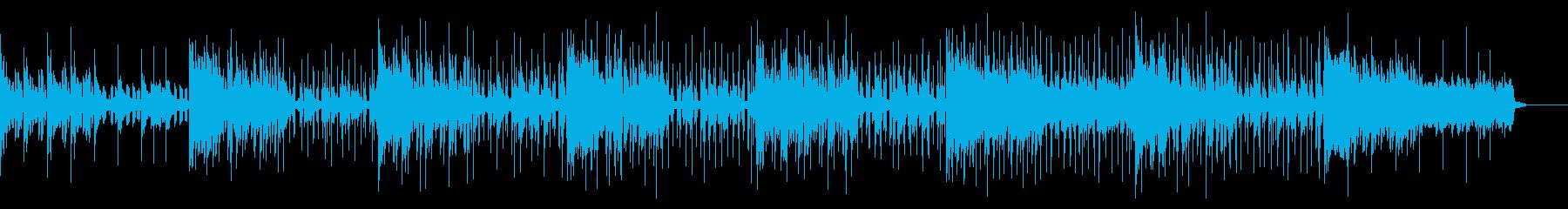 デジタルダークなアンビエントIDMの再生済みの波形