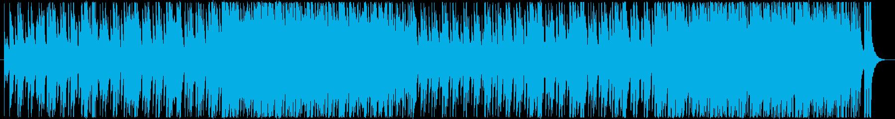 のん気で元気、カラフルでコミカル♪の再生済みの波形