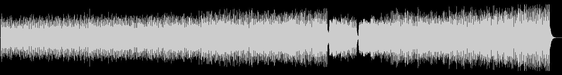 焦燥感 ミステリアス ミニマル音楽の未再生の波形