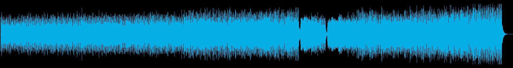 焦燥感 ミステリアス ミニマル音楽の再生済みの波形