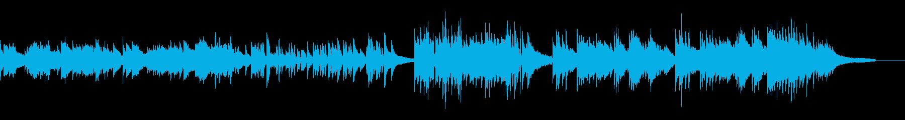 爽やか 素朴 壮大 ピアノソロの再生済みの波形