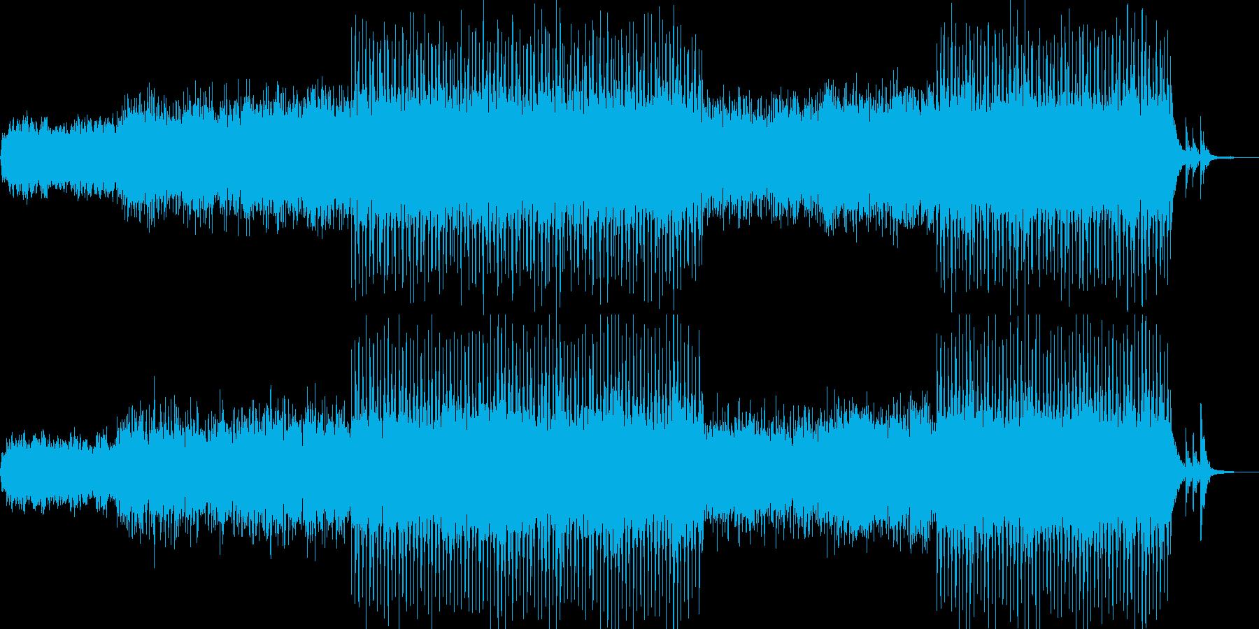 アンビエント環境音楽ヒーリング-10の再生済みの波形