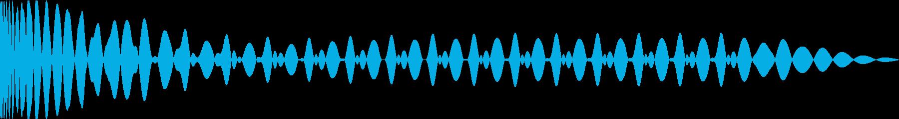 EDMキックEの再生済みの波形