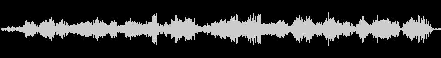 モンスターうめき声の未再生の波形