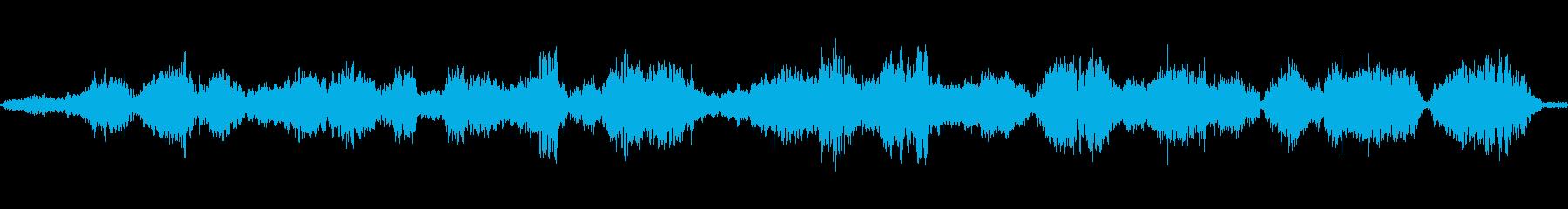 モンスターうめき声の再生済みの波形