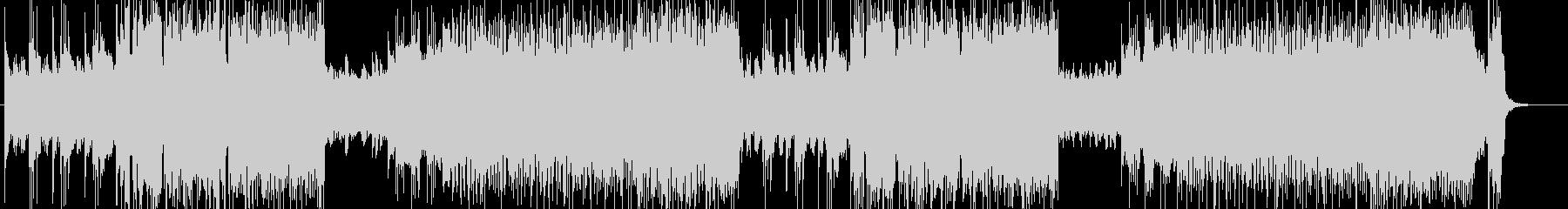 「HR/HM」「DEATH」BGM161の未再生の波形