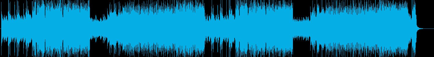 「HR/HM」「DEATH」BGM161の再生済みの波形