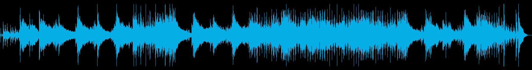 メランコリックなブルースの再生済みの波形