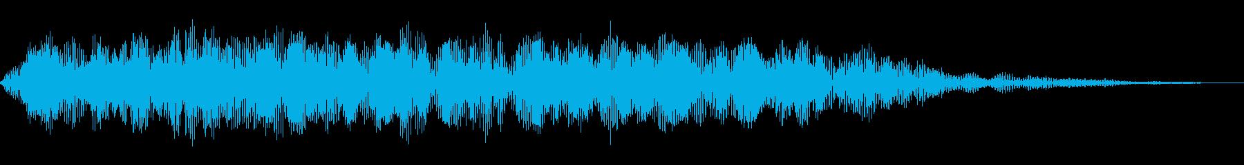 ロシアンルーレット、ドローンワーブ...の再生済みの波形