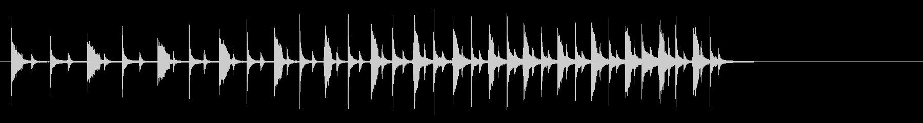 ドラムエフェクト、テンポの増加、音...の未再生の波形