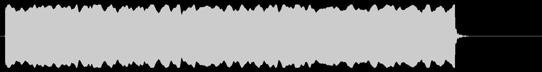 心停止の心電図音-Aの未再生の波形