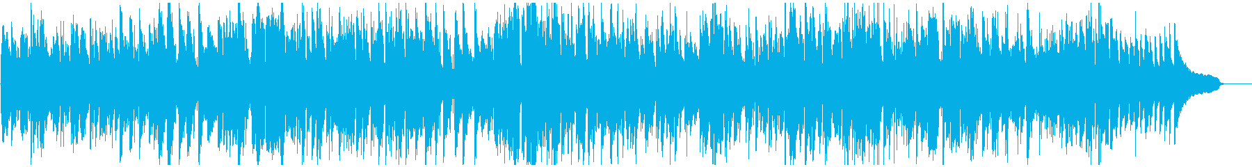 怪盗の逃走シーン的ジャズ、ハードボイルドの再生済みの波形