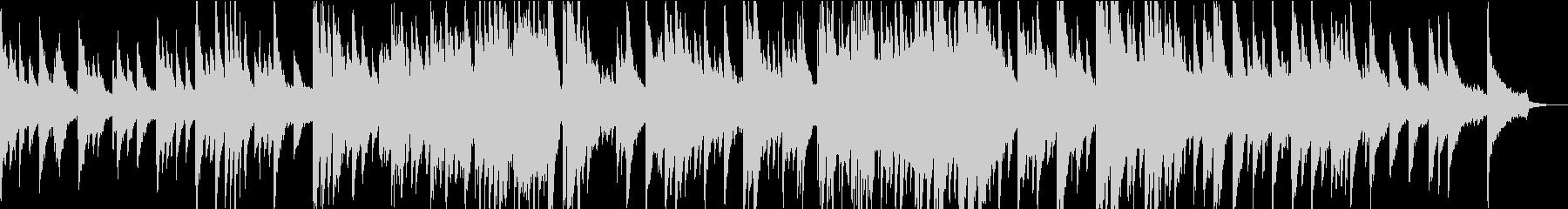 ピアノとパッドのゆったり和風曲の未再生の波形