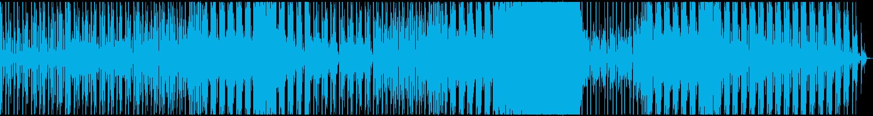 【歌】爽やか×女性英詩ボーカルポップスの再生済みの波形