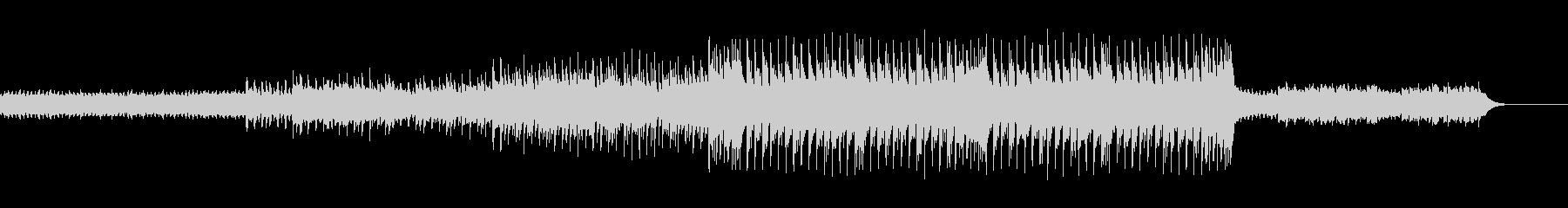 切ないメロディが印象的な楽曲の未再生の波形