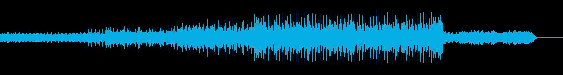 切ないメロディが印象的な楽曲の再生済みの波形