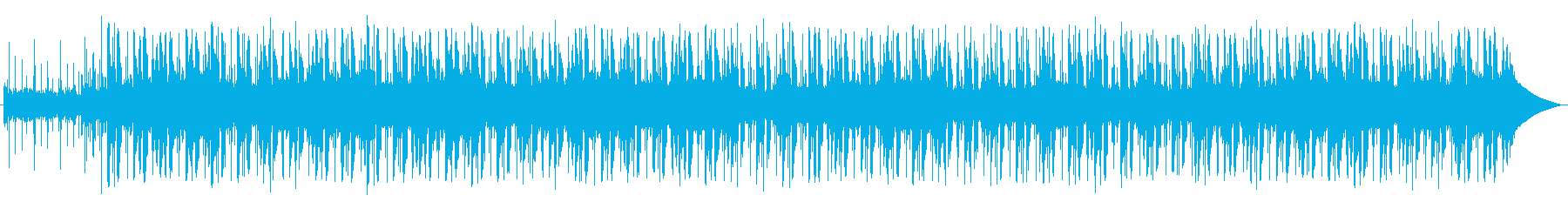 快適で明るいミッドテンポのメロディ...の再生済みの波形