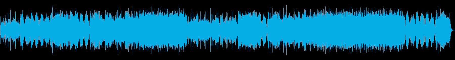 ヴァイオリンとピアノ中心でゆったりめの再生済みの波形