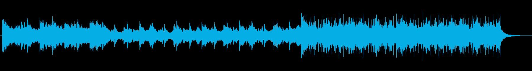 ピアノとストリングスのヒールミュージックの再生済みの波形