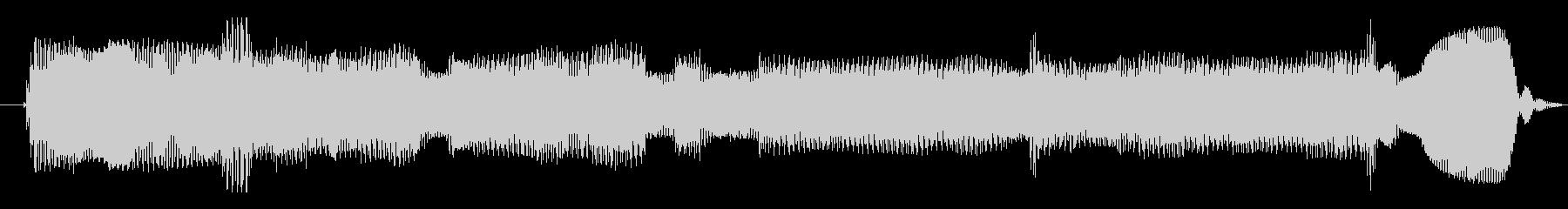 シンセサイザー 科学エイリアン01の未再生の波形