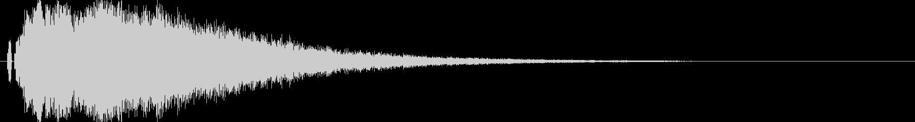 【キラキラ02】光や天使に最適な効果音!の未再生の波形