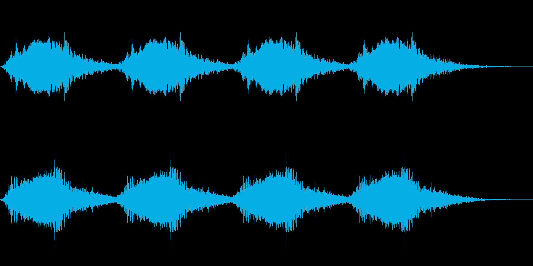 サイレン・警報2の再生済みの波形