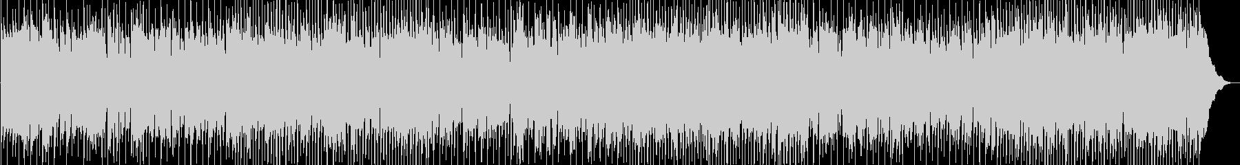 軽快なカントリーロックBGMの未再生の波形