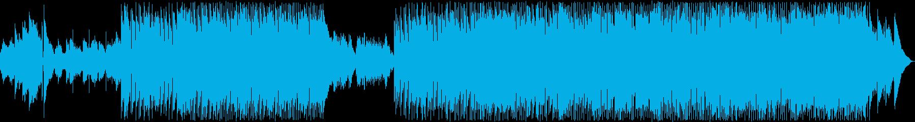 緩やかな雰囲気80年代風Jpopバラードの再生済みの波形