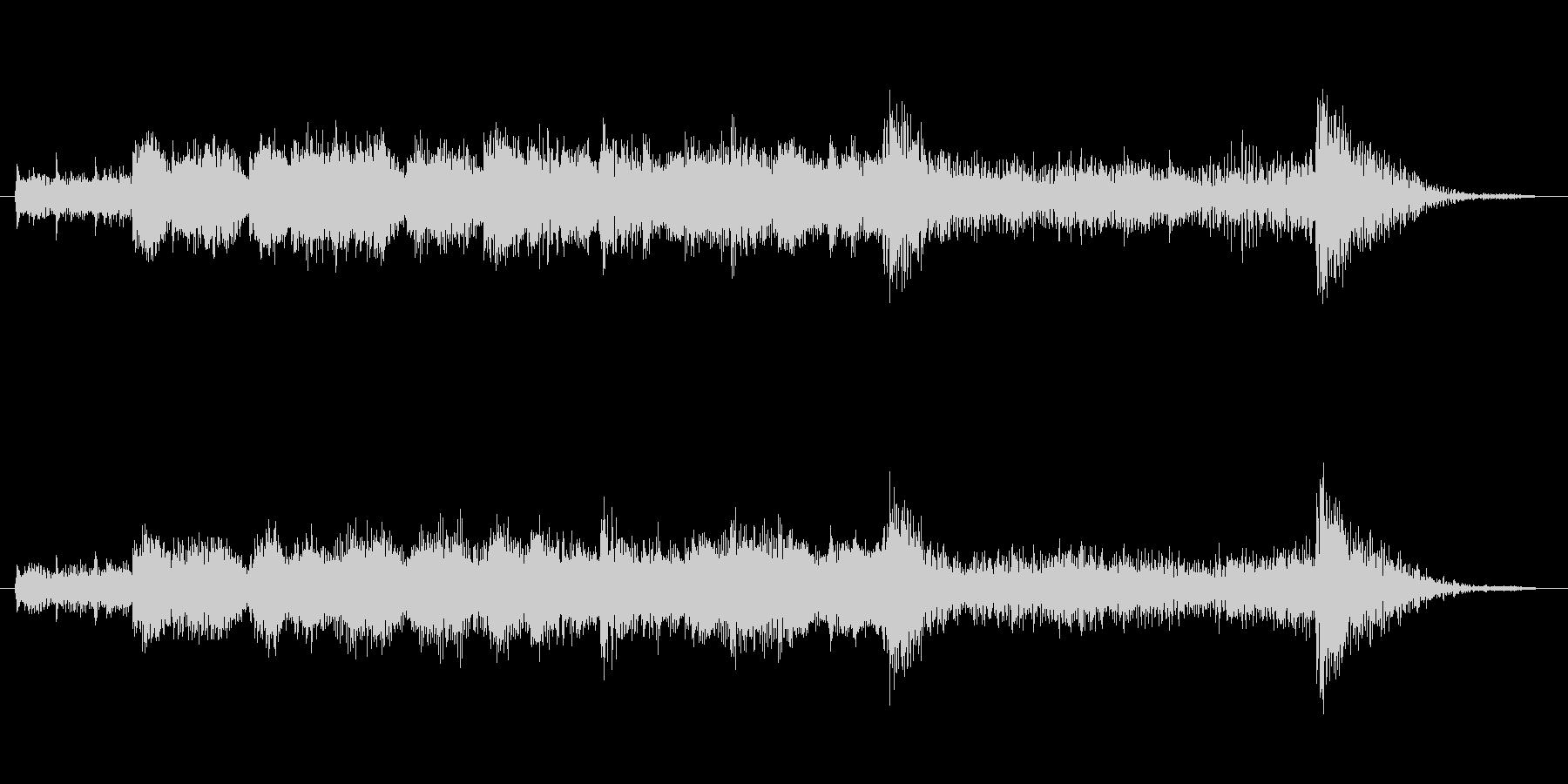 レベルアップオーケストラ発表シリーズの未再生の波形