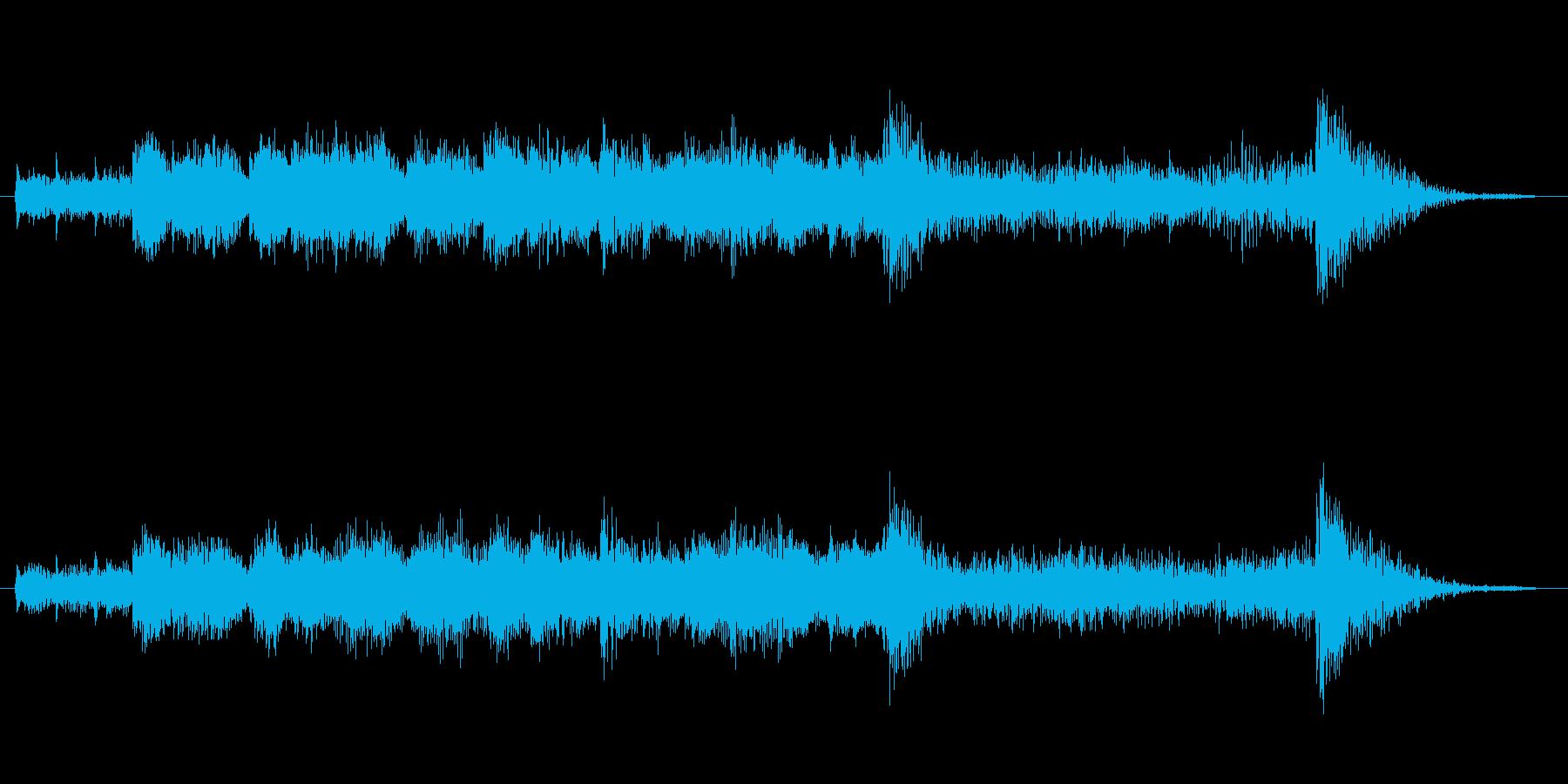レベルアップオーケストラ発表シリーズの再生済みの波形