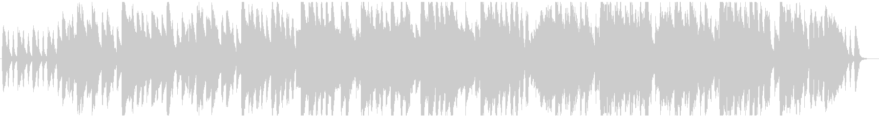ゆったりとしたファンタジー系ワルツ曲の未再生の波形