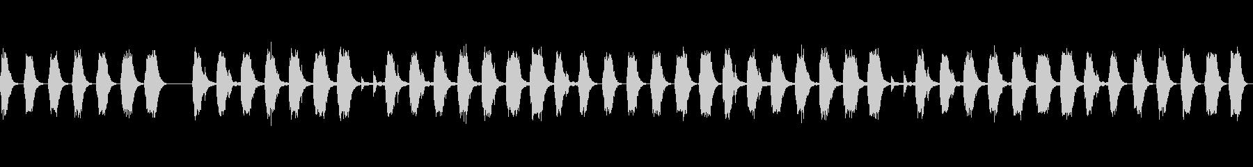 アイリッシュハープの心地良い音色の未再生の波形