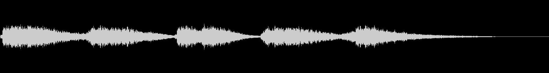 オープニングベル2の未再生の波形