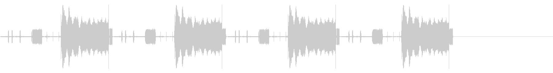 携帯電話、通話、信号; DIGIF...の未再生の波形