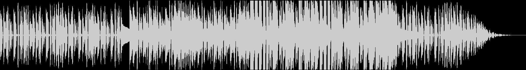 ベースが印象的なジャズナンバーの未再生の波形