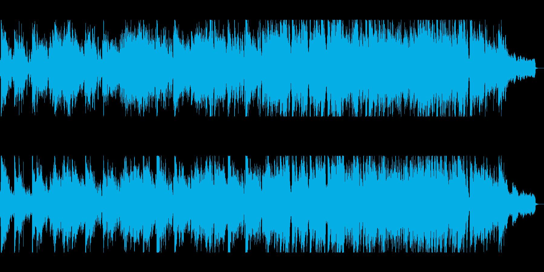 流れるようなギターが印象的なジャズの再生済みの波形