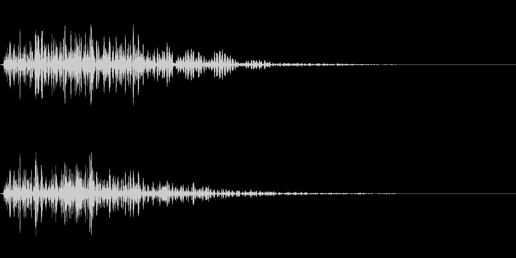 ピコ(アラート音・吹き出し音)の未再生の波形