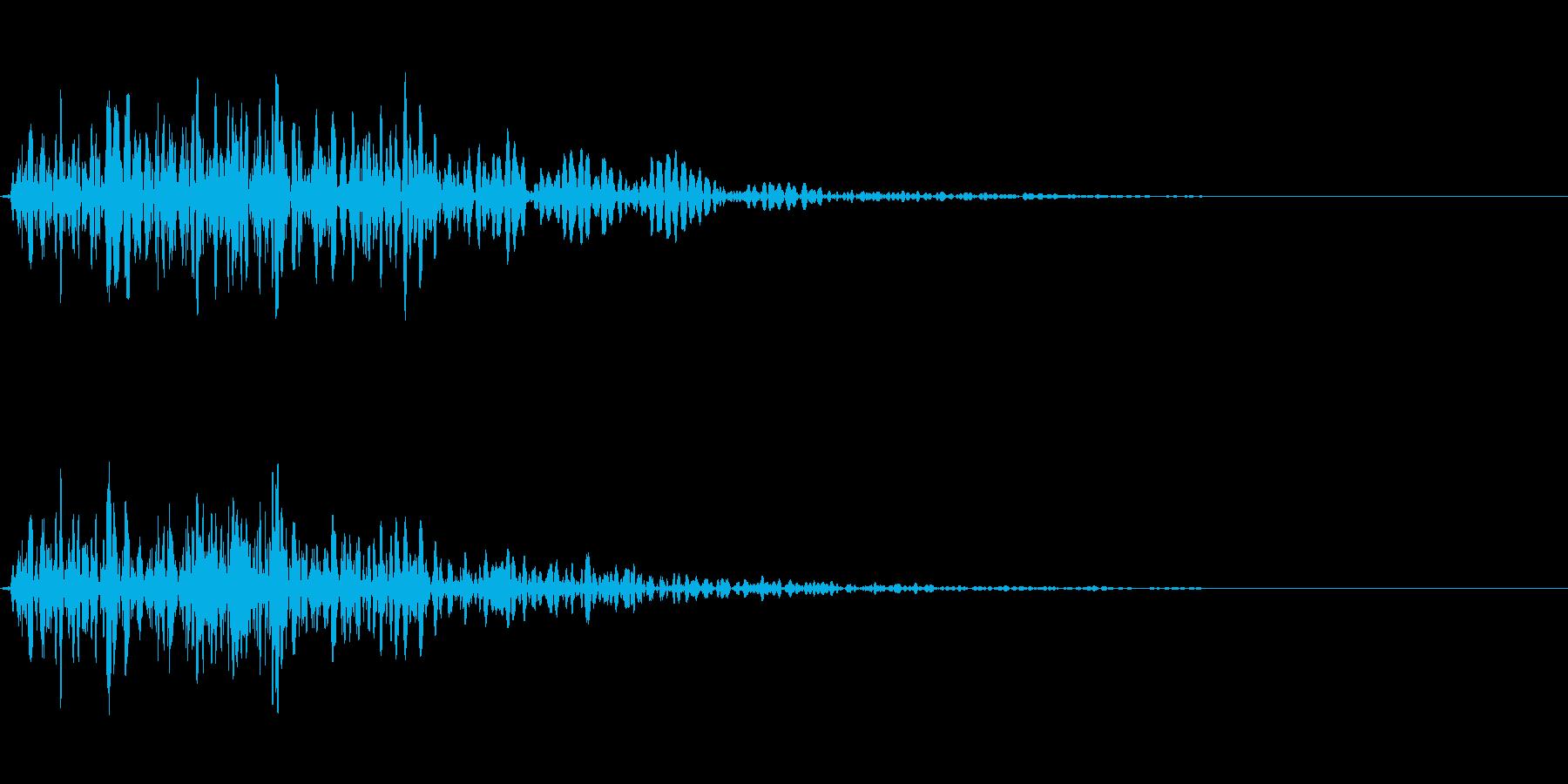 ピコ(アラート音・吹き出し音)の再生済みの波形