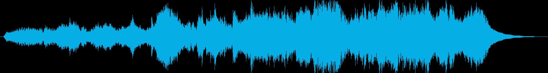 和風情緒ある優雅なオーケストラ(短縮版)の再生済みの波形