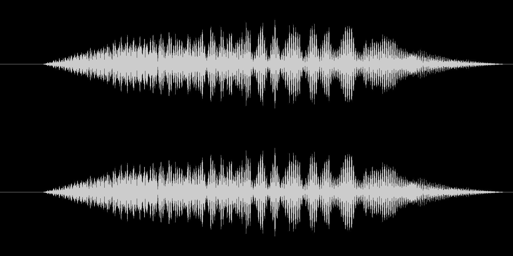 特撮 インターフェイススイープ05の未再生の波形