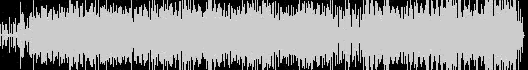 魅惑的なポップハウス曲の未再生の波形