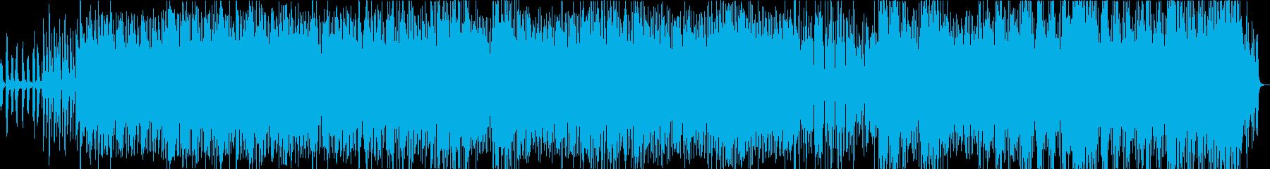 魅惑的なポップハウス曲の再生済みの波形