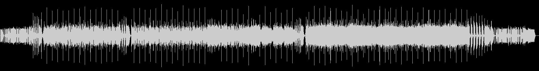 高速カッティングファンク生ギター・ベースの未再生の波形