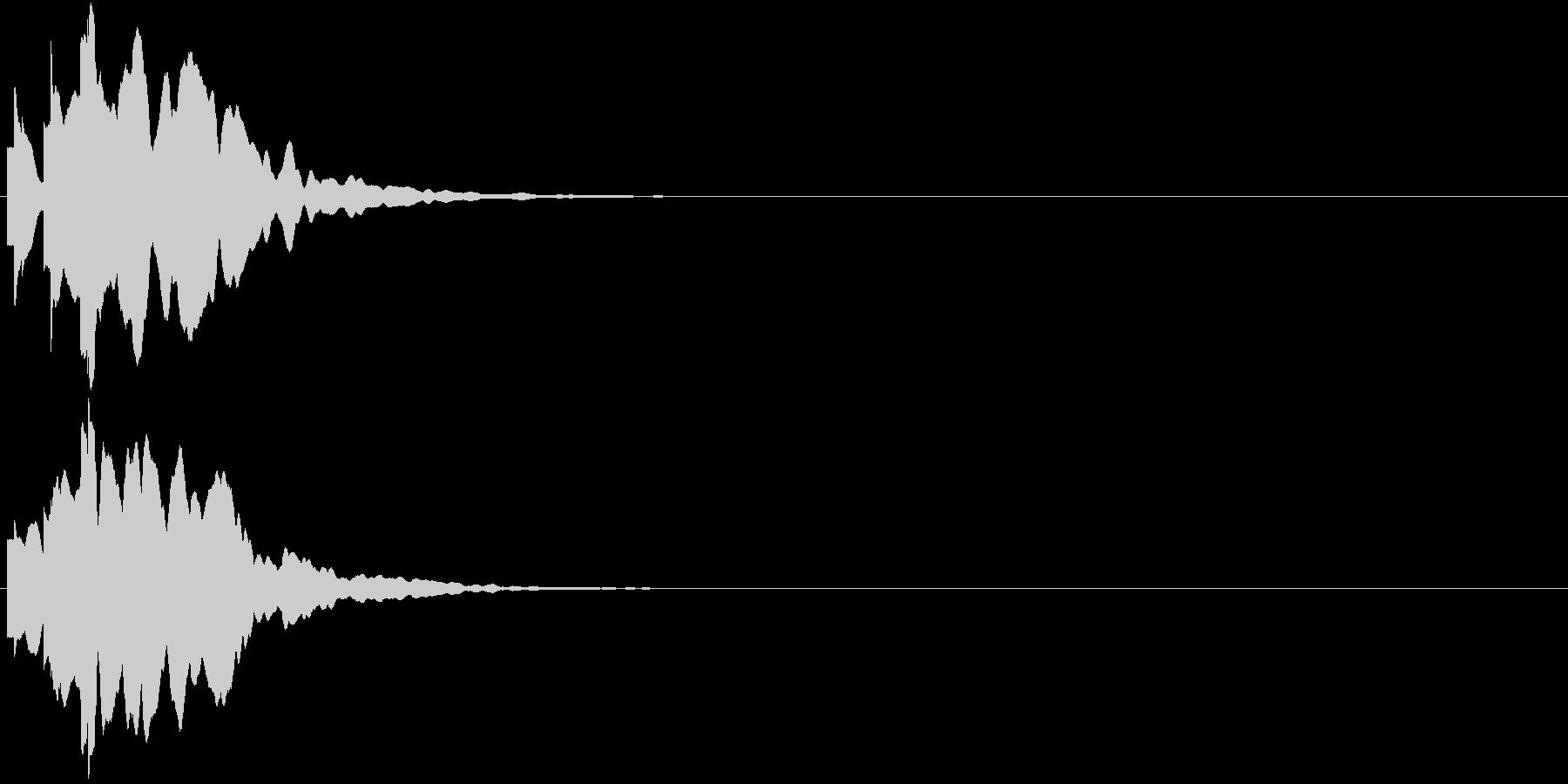 ひらめき 獲得 ゲット 入手 キラリン2の未再生の波形