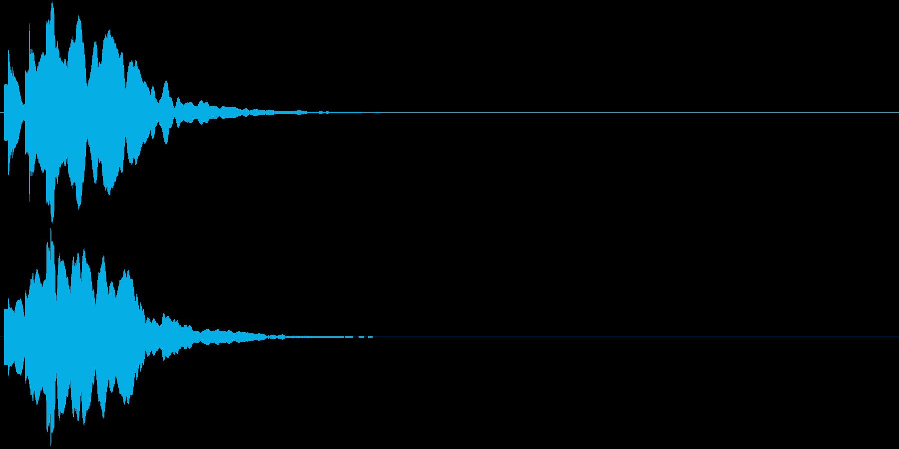 ひらめき 獲得 ゲット 入手 キラリン2の再生済みの波形