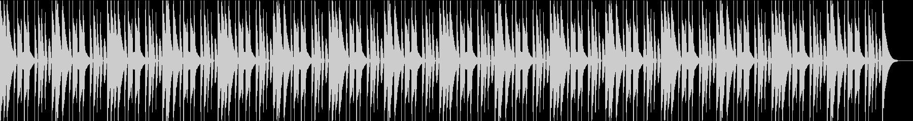日本のお囃子を参考にしたリズム(テクノ)の未再生の波形